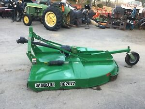 Very Nice Frontier Rc2072 6 Ft Bush Hog With Pto Shaft And Slip Clutch