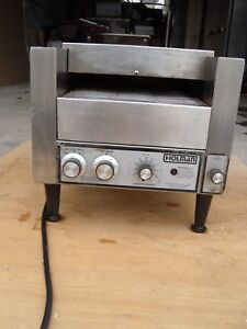 Used Holman T710 Counter Top Commercial Conveyor Toaster Electric