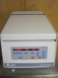 Beckman Coulter Allegra 21r Refrigerated Centrifuge W Bucket Rotor S4180 Insert