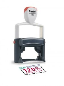 Trodat 5204 Professional Self inking Stamp package With 5 Stamps