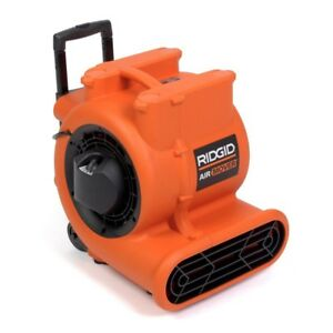 Ridgid Air Mover High Volume Vertically Stackable Heavy Duty Powerful 3speed