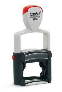 Trodat 5200 Professional Self inking Stamp package With 5 Stamps
