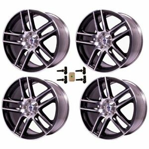 Ford Performance M10071991lgb Mustang Boss 302s Black Wheel W Machined Face 2005