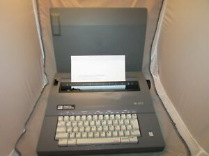 Smith Corona Sl 470 Electric Portable Correction Typewriter W Cover Works Perf