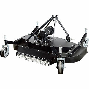 Nortrac 3 pt Pto Finish Mower 60in Cutting Width