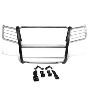 Fit 07 14 Chevy Tahoe suburban Stainless Steel Front Bumper Grille Brush Guard