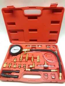 New Auto Mechanics Fuel Injection Pressure Test Kit With Case
