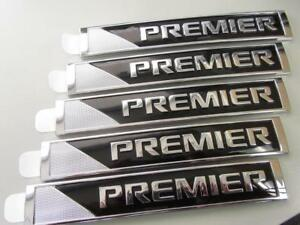 5 Lot Of Oem 2017 2018 Chevy Suburban Tahoe Premier Sign Emblem Decal Nameplate