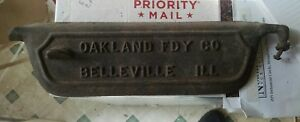 Oakland Foundry Belleville Illinois Cast Iron Wood Stove Door 28a