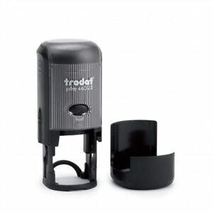 Trodat Printy 46025 Self inking Rubber Stamp 25mm Round package With 5 Stamps