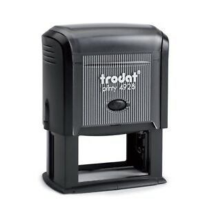 Trodat Printy 4928 Self inking Rubber Stamp 60mm X 33mm package With 5 Stamps