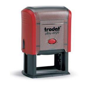 Trodat Printy 4929 Self Inking Rubber Stamp 50 X 30mm package With 5 Stamps