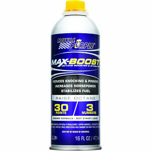 Royal Purple 11757 Max boost Octane Booster And Fuel Stabilizer 6 Pack