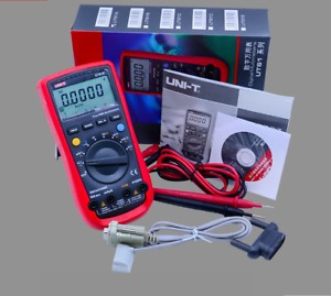 Uni t Ut 61e True Rms Digital Multimeter Ac dc Volt Amp Ohm Tester With Rs232ca