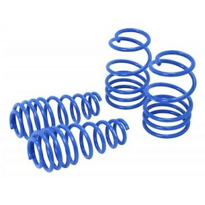 Manzo Lsfm 0510 Set Of 4 Lowering Springs For 05 14 Ford Mustang
