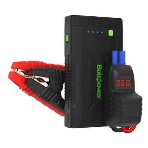 12v Portable Jump Starter Car Battery Power Bank Charger Booster Jumper Box