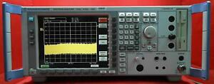 Rohde And Schwarz Fsu8 Spectrum Analyzer With Option Fsu b25 20 Hz 8 Ghz 100263