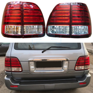 4pcs For Lexus Lx470 2003 2007 Rear Left Right Led Tail Lights Lamps Assembly