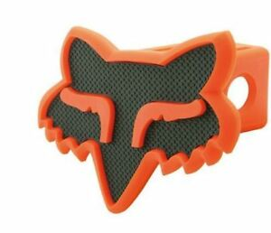 Fox Head Racing Trailer Hitch Cover 2 Truck Towing Dirtbike Black Orange 16124
