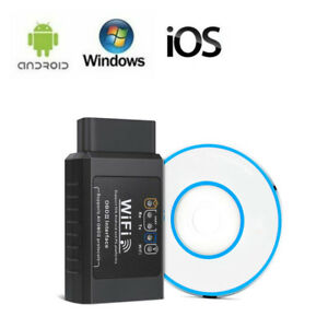 Elm327 Wireless Obd2 Car Code Reader Diagnostic Scanner For Ipad Air Pro Android