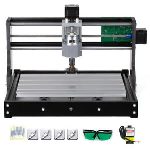 Cnc3018 500mw Diy Router Kit 2 in 1 Laser Engraving Machine 3 Axis W er11 Collet