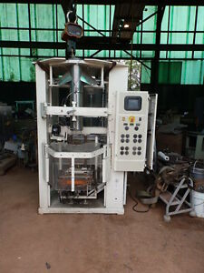 Triangle Form Fill Seal Machine With Scales Large Frame 7 Inch Forming Tube