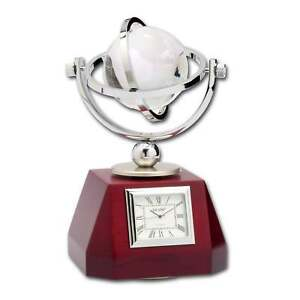 Dacasso Global Decorative Desk Clock