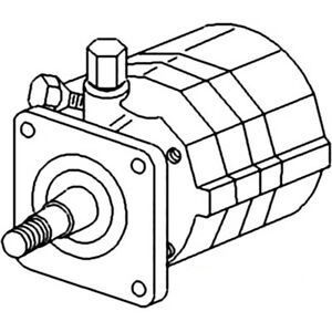 70240066 New Power Steering Pump Made To Fit Allis Chalmers Tractor D17 D19