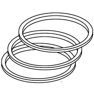 Pr220 New Piston Rings Made To Fit Case ih Tractor Models 310 450 480 580 350