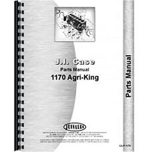 New Case 1170 Tractor Parts Manual