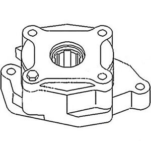 293177a1 New Oil Pump Made To Fit Case ih Tractor Models C70 C80 C90 Cx70 Cx80