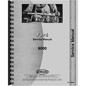 New Ford 6000 Tractor Service Manual