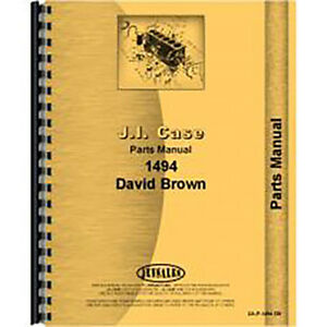 New Case 1494 Tractor Parts Manual