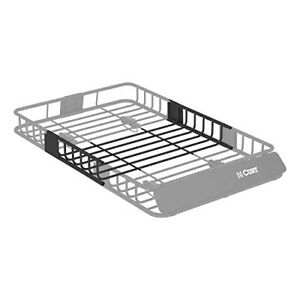 Curt 18117 Roof Rack Cargo Basket Carrier Extension 6 Square Foot Storage Area