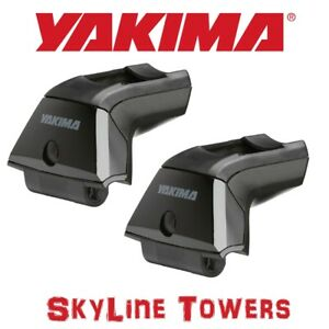 8000152 Yakima Skyline Roof Rack Towers For Landing Pads 2 Pack