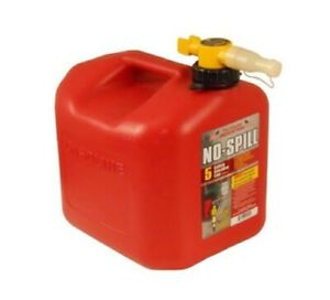 B1ns1450 No spill Carb Gas Can 5 Gallon Fuel Safety Container