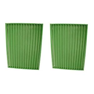 Ar53791 Two Side Grill Screen Set Of 2 For John Deere Jd Tractor 5010 6030 7520