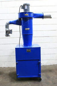 540 Cfm 0 75hp Torit 13 fm Dust Collector Cyclone Type
