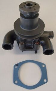 Water Pump With Pulley For Massey Ferguson Mf 240p 245 250 2500 Forklift 253 263