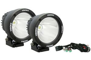 Vision X Ctl Cpz110kit Universal 25 Watt Luminous Led Spot Beam Off Road Light