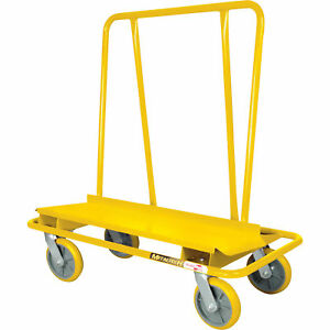 Metaltech 3000 lb Capacity Welded Drywall Cart
