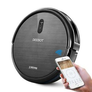 Ecovacs Deebot N79 Robotic Vacuum Cleaner With 3 Cleaning Modes App Compatible