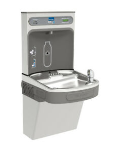 Elkay Lzs8wsvrsk Ezh2o Wall Mount Drinking Fountain And Bottle Filling Station W