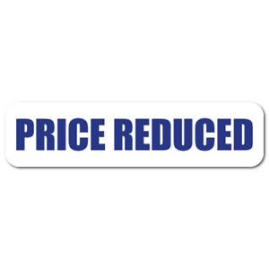 2 X 0 5 Price Reduced White Background Roll Of 1 000 Stickers
