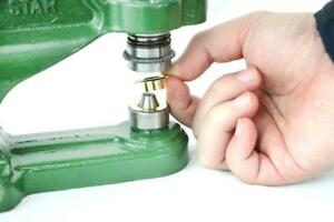 Hand Press Grommet Machine For Grommets Eyelets Snaps Rivets Button Covers