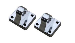 8805p 2 All Sales Polished D ring Mount Set Of 2
