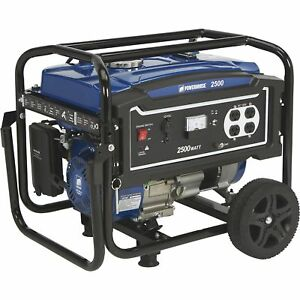 Powerhorse Portable Generator 2500 Surge Watts 2000 Rated Watts Epa Compliant
