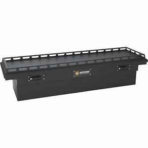 Northern Tool Crossover Low Profile 69in Aluminum Truck Tool Box matte Black