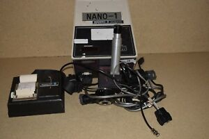 Nanometrics Model 200 Film Thickness Measurement System Wafer Inspection