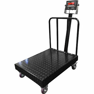 Optima Op 915bwdp 2432 1000 32x24in Portable Bench Scale 1000lb Cap